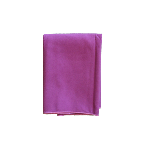 Purple microfibre kitchen towel